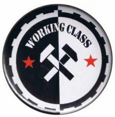 """Zum 50mm Magnet-Button """"Working Class Hämmer"""" für 3,00 € gehen."""