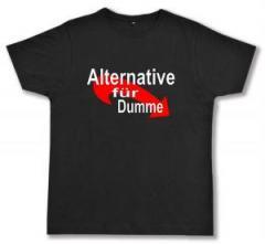 """Zum Fairtrade T-Shirt """"Alternative für Dumme"""" für 16,57 € gehen."""