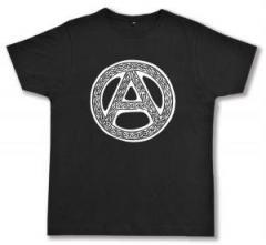 """Zum Fairtrade T-Shirt """"Anarchie - Tribal"""" für 17,00 € gehen."""