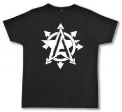 """Zum Fairtrade T-Shirt """"Anarchy Star"""" für 17,00 € gehen."""