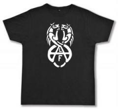 "Zum Fairtrade T-Shirt ""Animal Liberation Front (ALF) Horses"" für 17,00 € gehen."