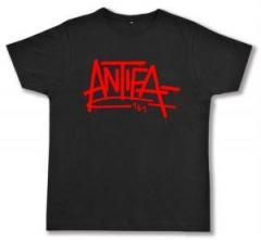 """Zum Fairtrade T-Shirt """"Antifa 161"""" für 17,00 € gehen."""