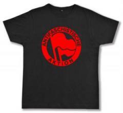 """Zum Fairtrade T-Shirt """"Antifaschistische Aktion (1932, rot/rot)"""" für 17,00 € gehen."""