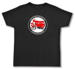 """Zum Fairtrade T-Shirt """"Antifaschistische Simsomfahrer"""" für 19,00 € gehen."""