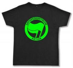 """Zum Fairtrade T-Shirt """"Antispeziesistische Aktion (grün/grün)"""" für 16,57 € gehen."""