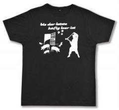 """Zum Fairtrade T-Shirt """"Bis der letzte Käfig leer ist"""" für 17,00 € gehen."""