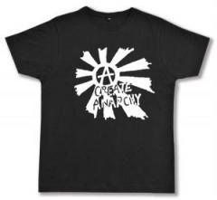 """Zum Fairtrade T-Shirt """"Create Anarchy"""" für 17,00 € gehen."""