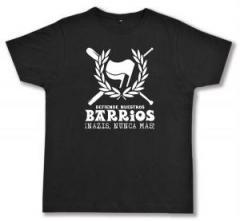 """Zum Fairtrade T-Shirt """"Defiende nuestros Barrios"""" für 17,00 € gehen."""