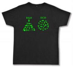 """Zum Fairtrade T-Shirt """"Ego - Eco"""" für 17,00 € gehen."""