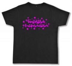 """Zum Fairtrade T-Shirt """"Fantastisch Antifaschistisch"""" für 17,00 € gehen."""
