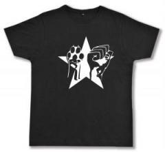 """Zum Fairtrade T-Shirt """"Faust und Pfote - Stern"""" für 16,57 € gehen."""
