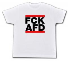 """Zum Fairtrade T-Shirt """"FCK AFD"""" für 14,08 € gehen."""