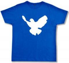 """Zum Fairtrade T-Shirt """"Friedenstaube"""" für 16,57 € gehen."""