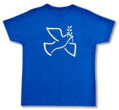 """Zum Fairtrade T-Shirt """"Friedenstaube mit Zweig"""" für 17,00 € gehen."""