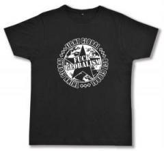 """Zum Fairtrade T-Shirt """"Fuck Globalism"""" für 17,00 € gehen."""