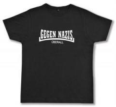 """Zum Fairtrade T-Shirt """"Gegen Nazis Überall"""" für 16,57 € gehen."""