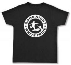 """Zum Fairtrade T-Shirt """"Good night white pride - Fußball"""" für 17,00 € gehen."""