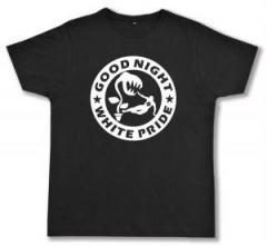 """Zum Fairtrade T-Shirt """"Good night white pride - Pflanze"""" für 16,57 € gehen."""