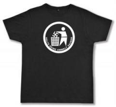 """Zum Fairtrade T-Shirt """"Halte Deine Umwelt sauber"""" für 17,00 € gehen."""