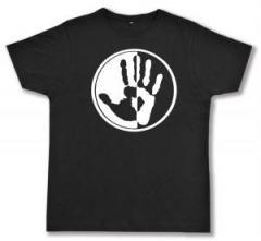 """Zum Fairtrade T-Shirt """"Hand"""" für 16,57 € gehen."""