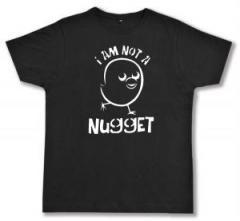 """Zum Fairtrade T-Shirt """"I am not a nugget"""" für 17,00 € gehen."""