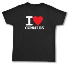 """Zum Fairtrade T-Shirt """"I love commies"""" für 17,00 € gehen."""