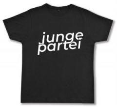"""Zum Fairtrade T-Shirt """"Junge Partei"""" für 19,00 € gehen."""