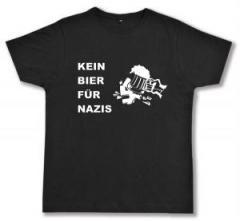 """Zum Fairtrade T-Shirt """"Kein Bier für Nazis"""" für 17,00 € gehen."""