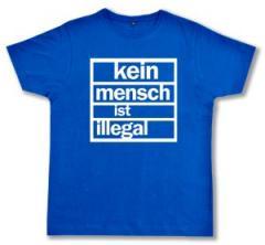 """Zum Fairtrade T-Shirt """"Kein Mensch ist illegal"""" für 14,08 € gehen."""