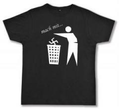"""Zum Fairtrade T-Shirt """"Mach mit ..."""" für 16,57 € gehen."""