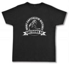 """Zum Fairtrade T-Shirt """"Make Capitalism History"""" für 16,57 € gehen."""