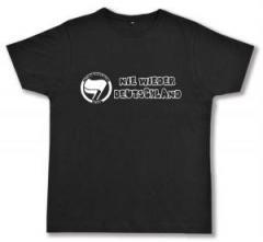 """Zum Fairtrade T-Shirt """"Nie wieder Deutschland"""" für 17,00 € gehen."""