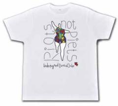 """Zum Fairtrade T-Shirt """"Niki de Saint Phalle Linksjugend"""" für 19,50 € gehen."""