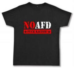 """Zum Fairtrade T-Shirt """"No AFD"""" für 16,57 € gehen."""