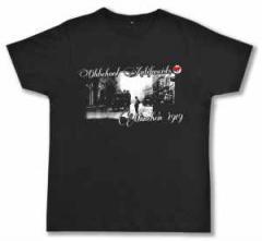 """Zum Fairtrade T-Shirt """"Oldschool Antifascists"""" für 19,00 € gehen."""