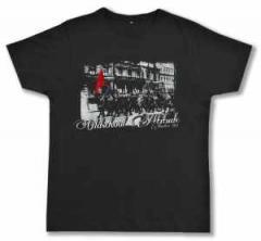 """Zum Fairtrade T-Shirt """"Oldschool Attitude"""" für 19,00 € gehen."""