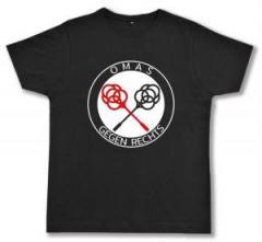 """Zum Fairtrade T-Shirt """"Omas gegen Rechts (Teppichklopfer)"""" für 17,00 € gehen."""