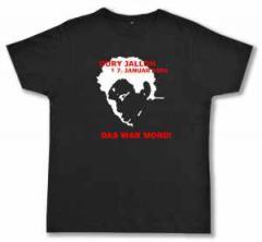 """Zum Fairtrade T-Shirt """"Oury Jalloh - 7. Januar 2005"""" für 17,00 € gehen."""
