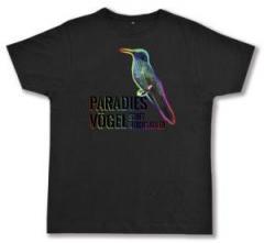 """Zum Fairtrade T-Shirt """"Paradiesvögel statt Reichsadler"""" für 23,39 € gehen."""