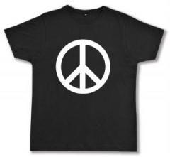 """Zum Fairtrade T-Shirt """"Peacezeichen"""" für 17,00 € gehen."""