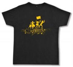 """Zum Fairtrade T-Shirt """"Reclaim the Streets"""" für 17,00 € gehen."""