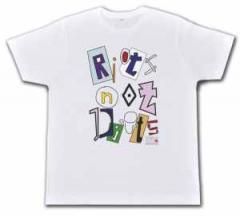 """Zum Fairtrade T-Shirt """"Riots not diets Linksjugend"""" für 19,50 € gehen."""