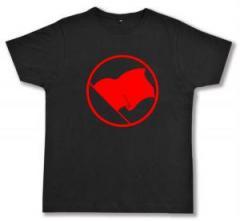 """Zum Fairtrade T-Shirt """"Rote Fahne"""" für 17,00 € gehen."""