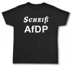 """Zum Fairtrade T-Shirt """"Scheiß AfDP"""" für 17,00 € gehen."""