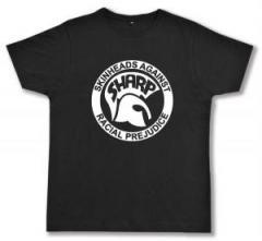 "Zum Fairtrade T-Shirt ""Sharp - Skinheads against Racial Prejudice"" für 17,00 € gehen."
