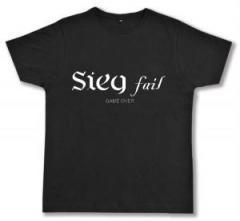 "Zum Fairtrade T-Shirt ""Sieg fail"" für 16,57 € gehen."