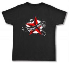 """Zum Fairtrade T-Shirt """"Siempre Antifascista"""" für 17,00 € gehen."""
