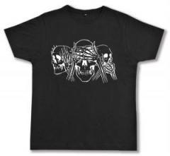 """Zum Fairtrade T-Shirt """"Skulls"""" für 16,57 € gehen."""