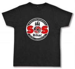 """Zum Fairtrade T-Shirt """"SOS Bihac"""" für 18,52 € gehen."""