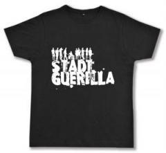 """Zum Fairtrade T-Shirt """"Stadtguerilla"""" für 17,00 € gehen."""